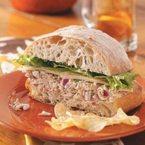 Fiesta Tuna Salad Sandwiches