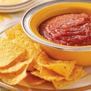 Fire-Roasted Tomato Salsa
