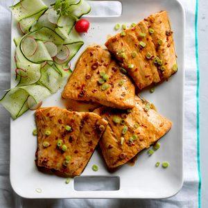 Firecracker Grilled Salmon