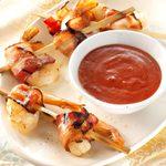 Firecracker Shrimp with Cranpotle Dipping Sauce