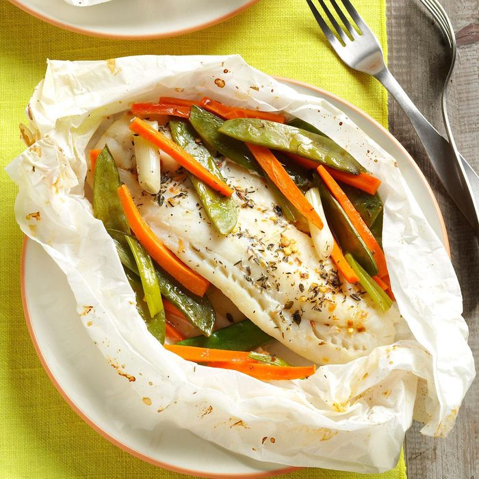 Fish & Vegetable Packets