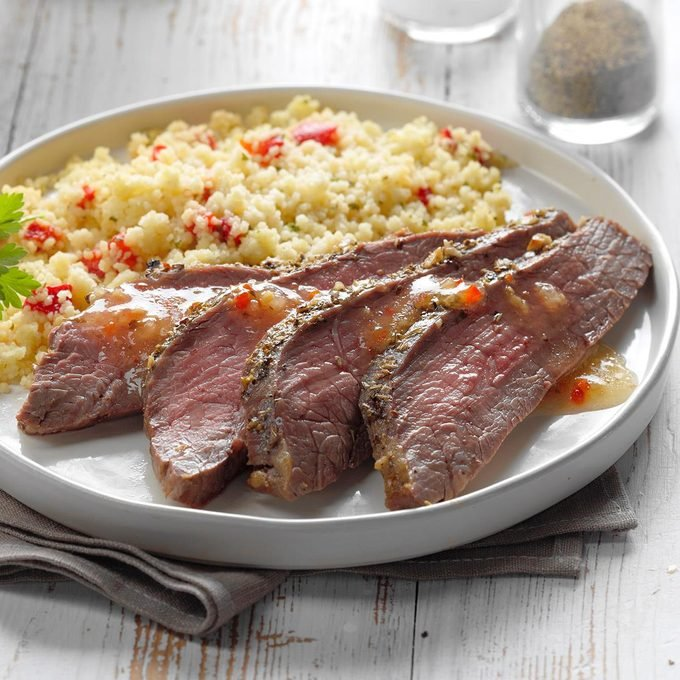 Flank Steak with Couscous