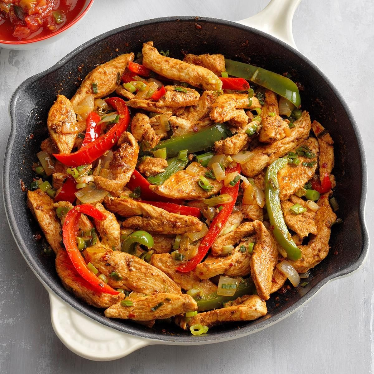 Flavorful Chicken Fajitas Recipe