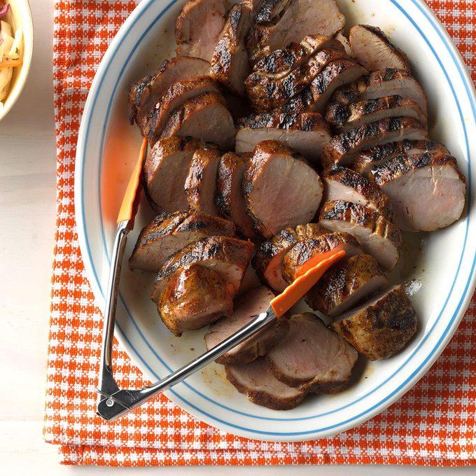 Flavorful Grilled Pork Tenderloin
