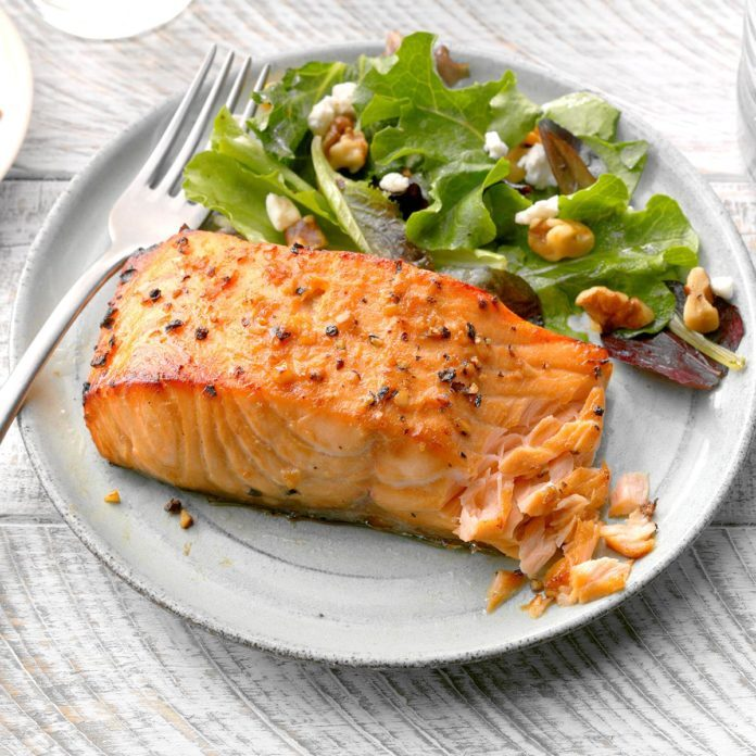 Day 31: Flavorful Salmon Fillets