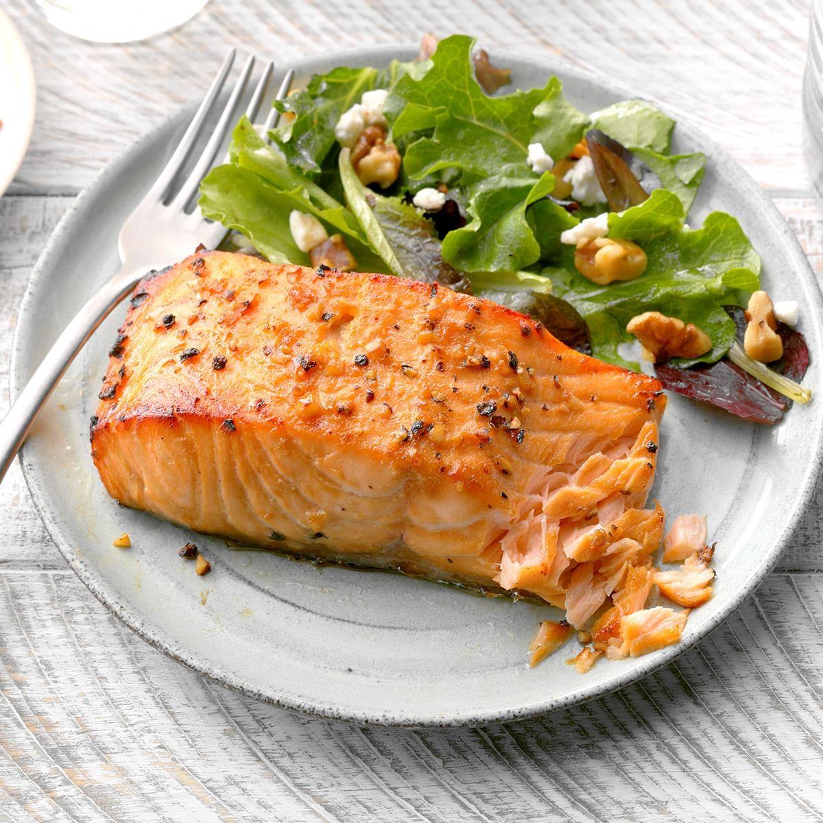 Flavorful salmon