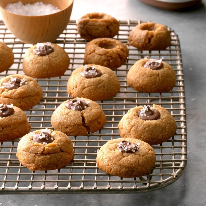 Flourless Peanut Butter Thumbprints