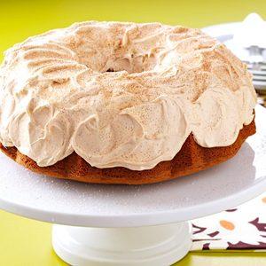 Fluted Tiramisu Cake