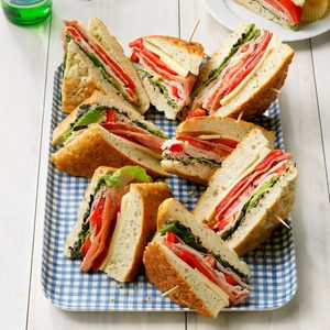 Focaccia Sandwiches
