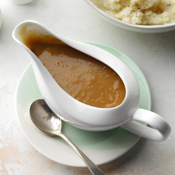 Foolproof gravy
