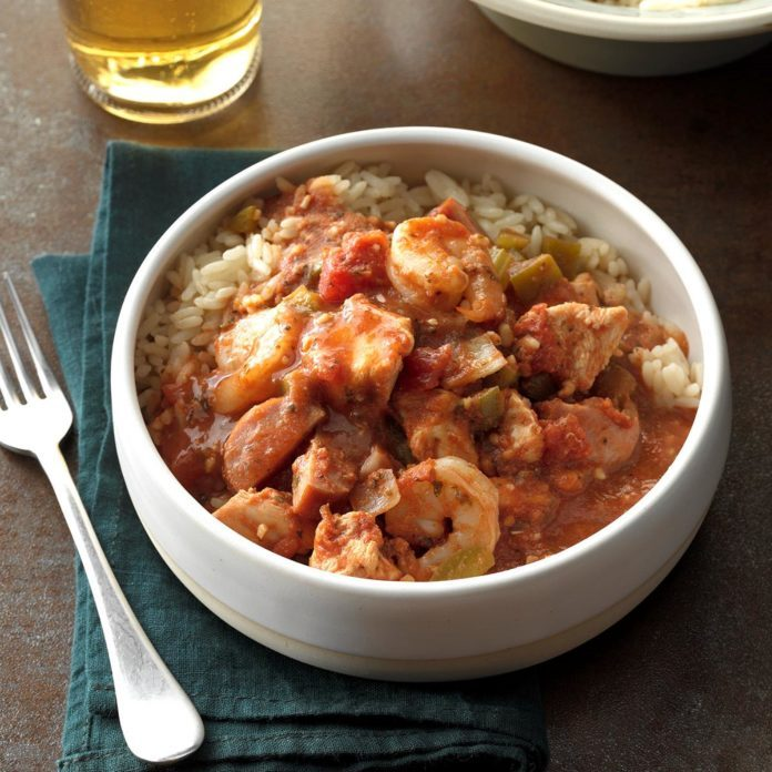 Day 28: Forgotten Jambalaya
