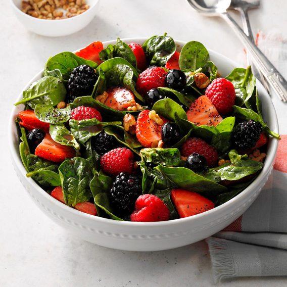 Vintage deep dish for salad and fruit.