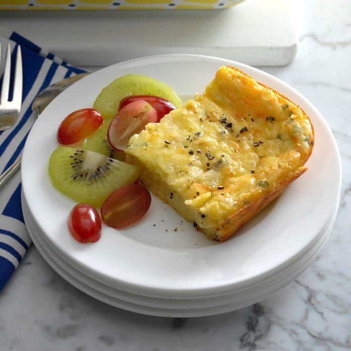 7 Eggs: Four-Cheese Baked Eggs