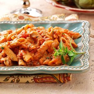 Four-Cheese Baked Penne