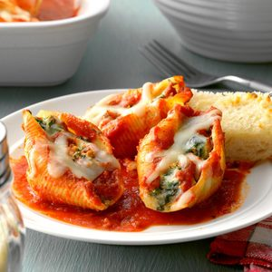 Four-Cheese Stuffed Shells