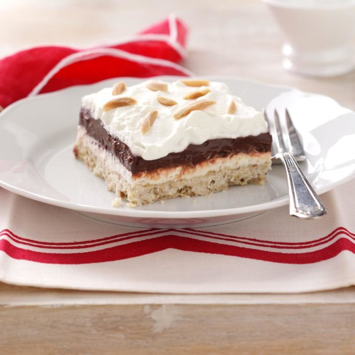 Four-Layer Chocolate Dessert
