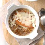 Four-Onion Soup