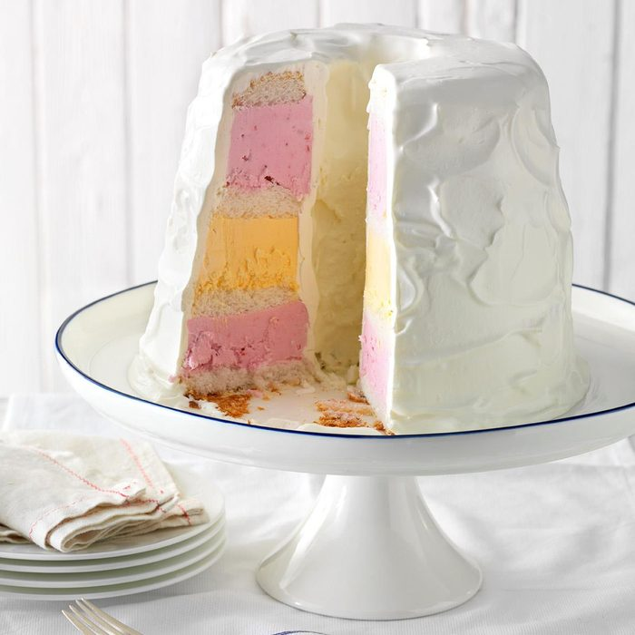 Now: Fourth of July Ice Cream Cake