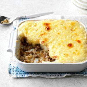 French Onion Shepherd's Pie