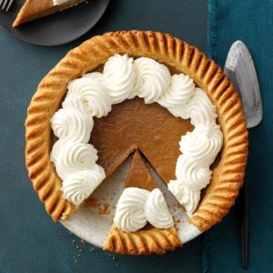 Fresh Pumpkin Pie