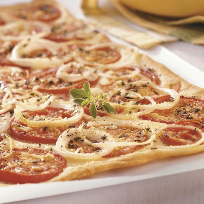 Fresh Tomato Flatbread
