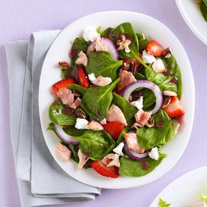 Fresh 'n' Fruity Salmon Salad