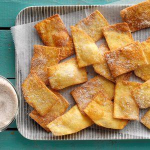 Fried Cinnamon Strips