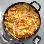 Fried Onions and Apples