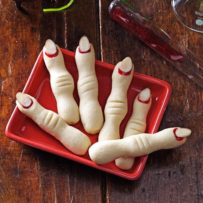 Spooky Snack: Frightening Fingers