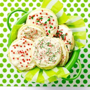 Frosted Anise Cookies