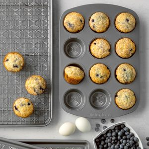 Frozen Blueberry Muffins