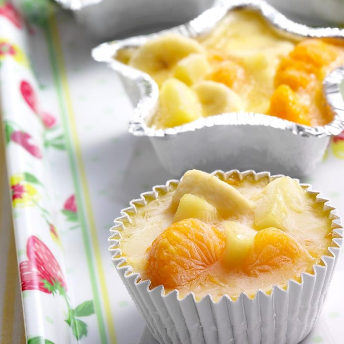Frozen Citrus Fruit Cups