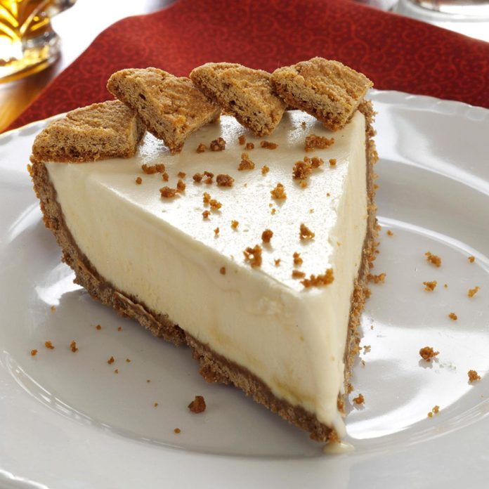 Frozen Maple Mousse Pie