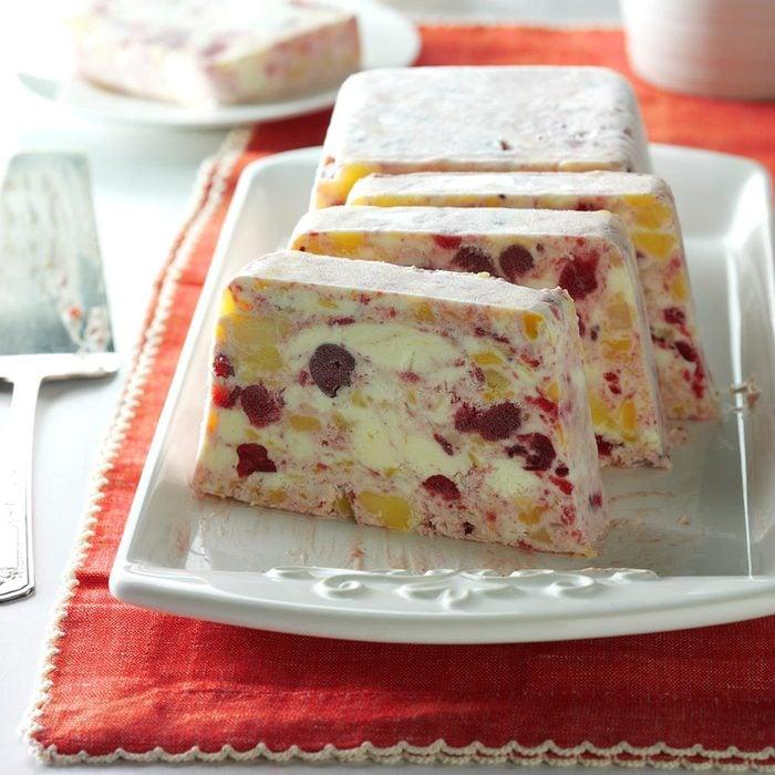 Frozen Pineapple-Cranberry Salad