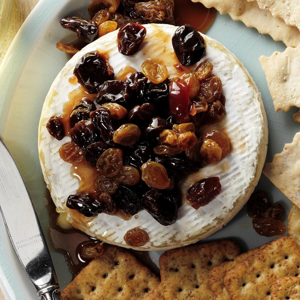 Fruit Compote With Brie