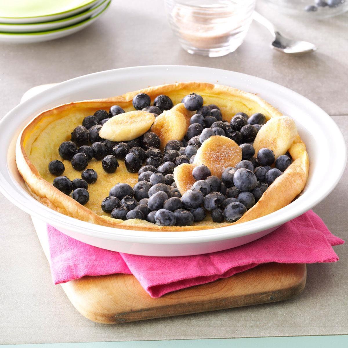 Fruit-Filled Puff Pancake