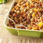 Fruit & Nut Andouille Stuffing