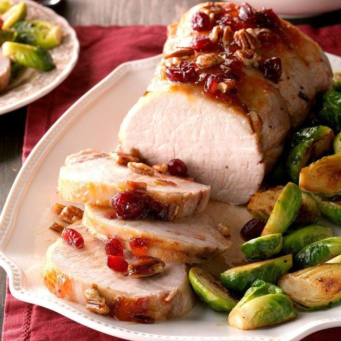 Fruit-Pecan Pork Roast