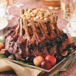 Fruit-Stuffed Crown Roast