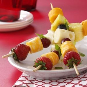 Fruit 'n' Cheese Kabobs