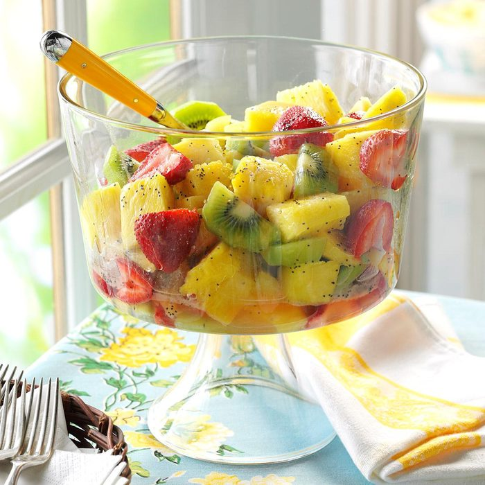 Fruit with Poppy Seed Dressing