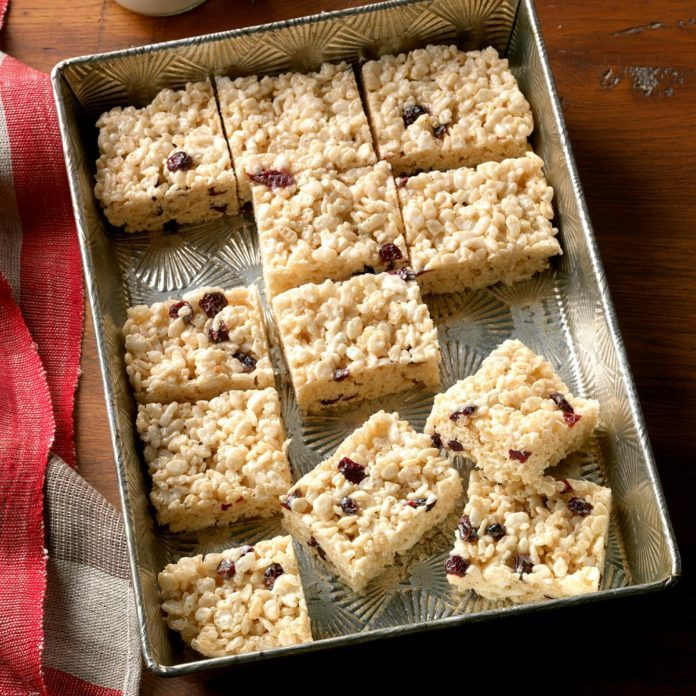 Fruity Cereal Bars