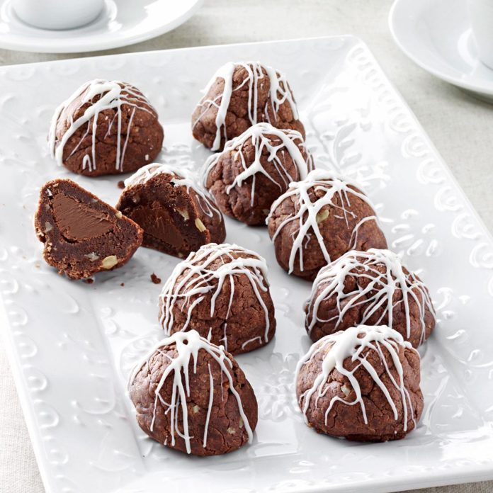 Fudge Bonbon Cookies