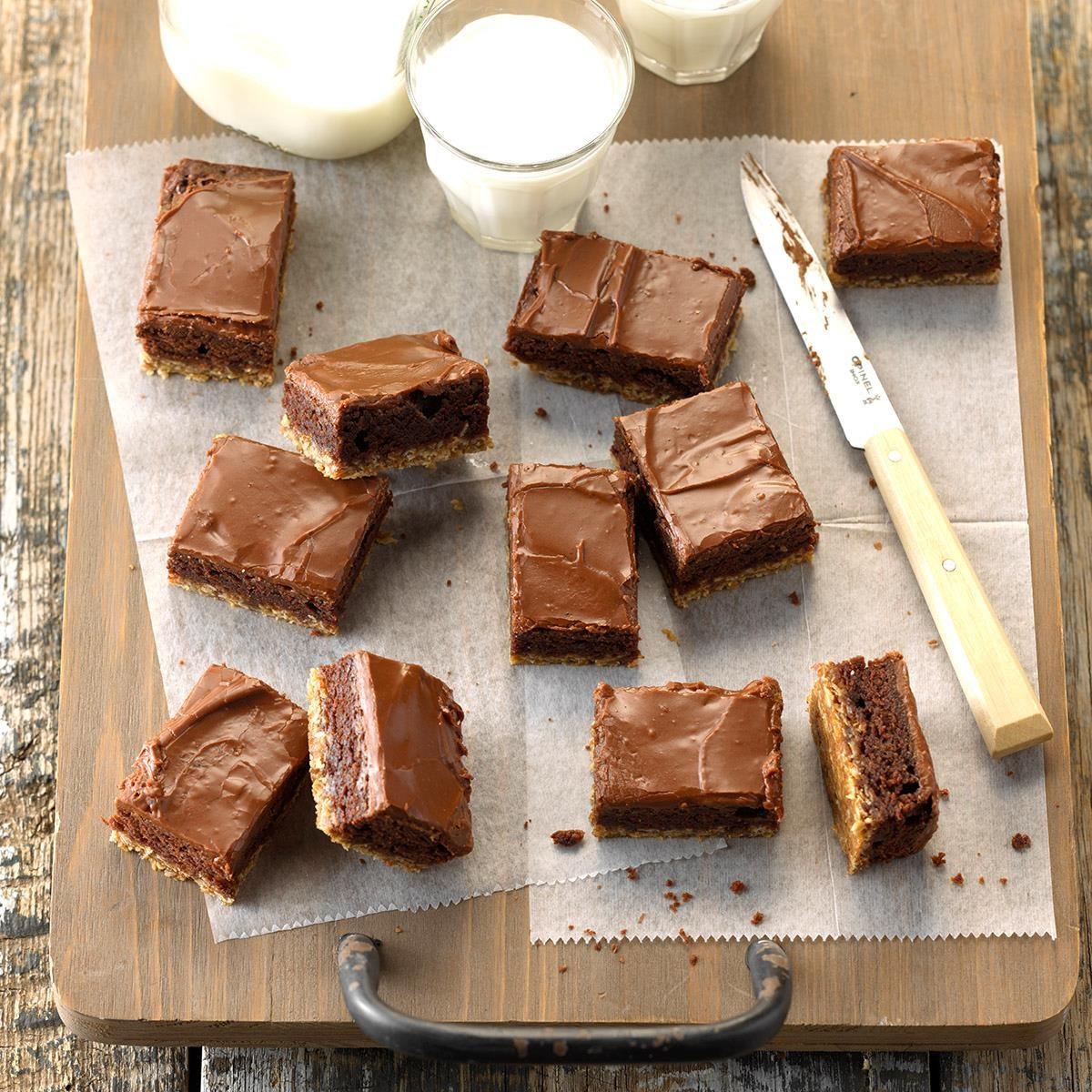 Fudgy Oat Brownies
