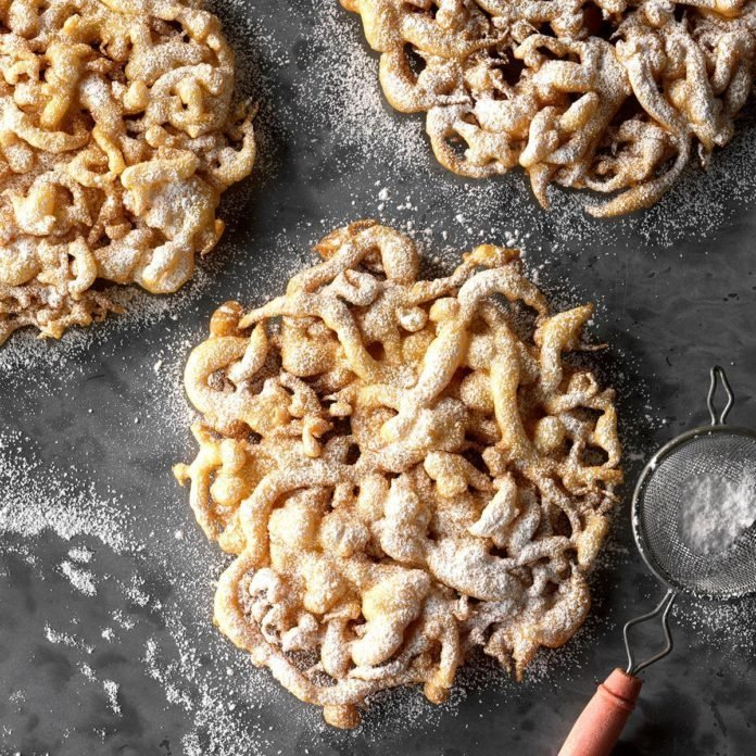 10: Funnel Cakes