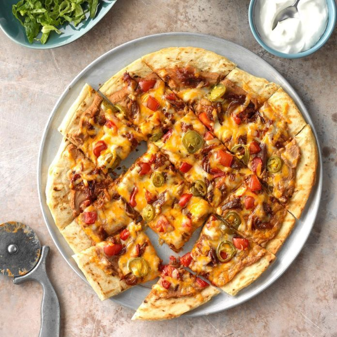 Game-Night Nacho Pizza