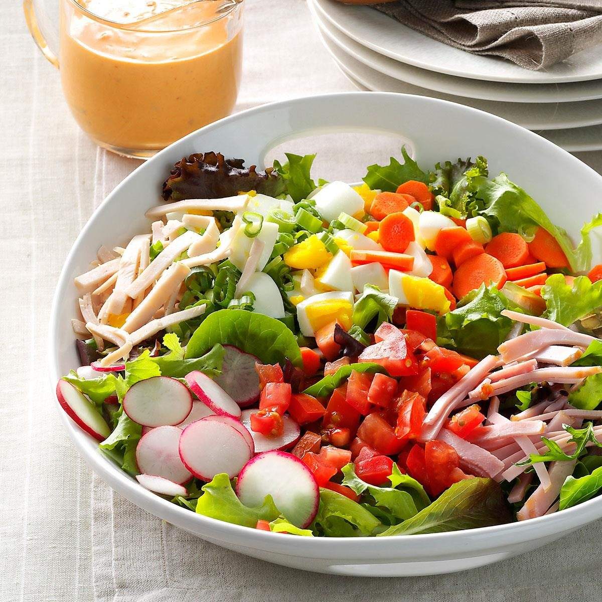 Inspired by: McAlister's Deli Chef Salad