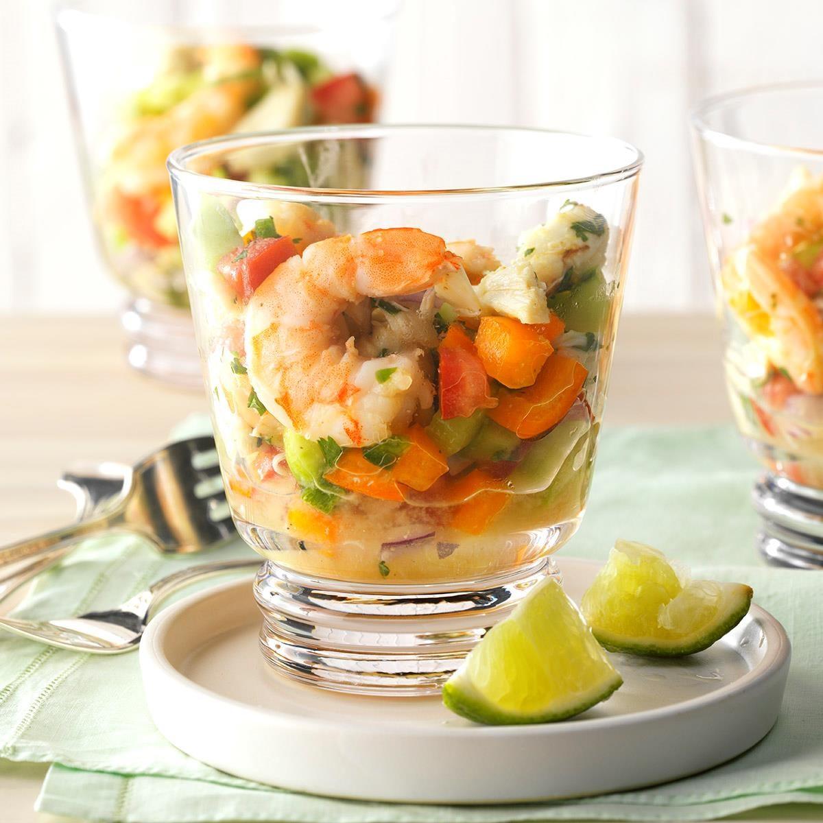 Garden-Fresh Seafood Cocktail
