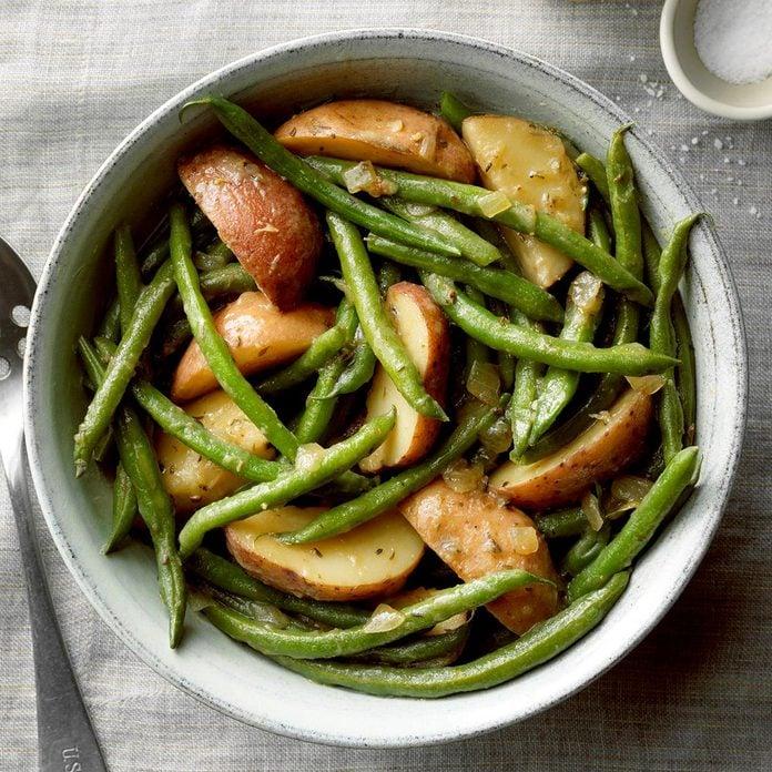 Garden Green Beans & Potatoes
