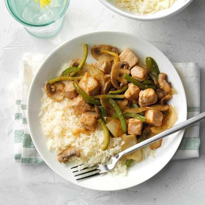 August 14: Garden Pork Stir-Fry
